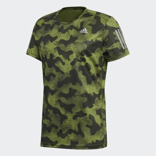 T shirt Own the Run Urban Camo Vert adidas | adidas France