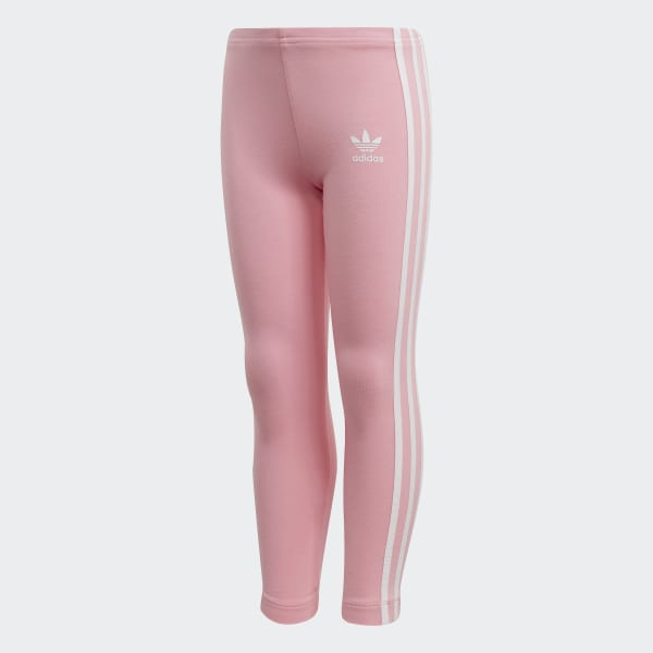 Adidas yoga pants with hot pink 3 striped legs