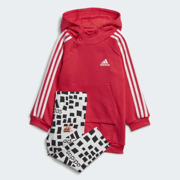 Adidas Little Girls Cotton Cover up Hoodie