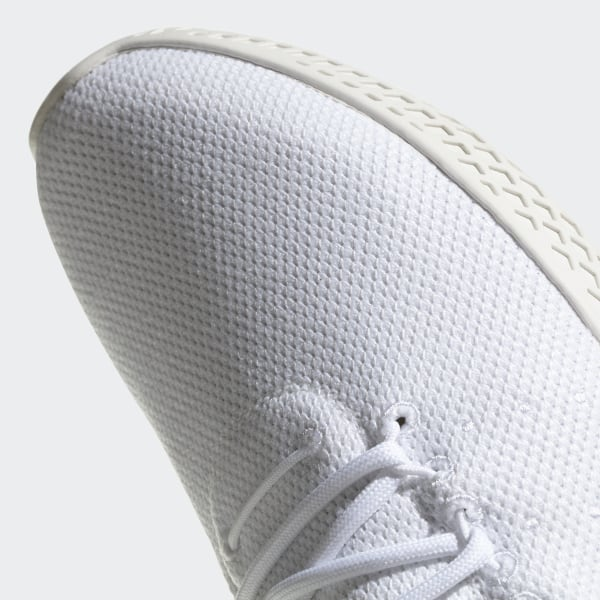 adidas Originals Pharrell Williams Tennis HU Sneakers In White CQ2168
