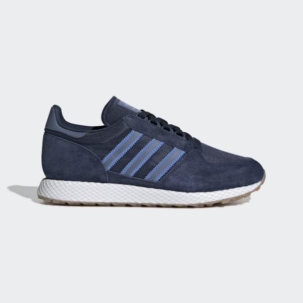 adidas Forest Grove Schuh Blau | adidas Deutschland