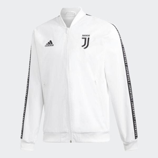 adidas Juventus Anthem Jacket White | adidas Australia