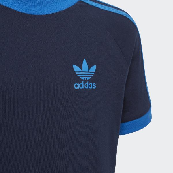 adidas 3 Stripes T shirt Blå   adidas Denmark