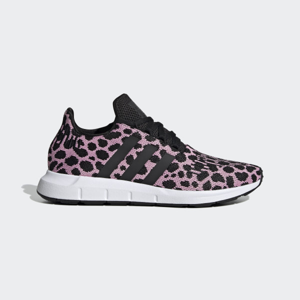 adidas Swift Run Womens Trainers in Grey Pink