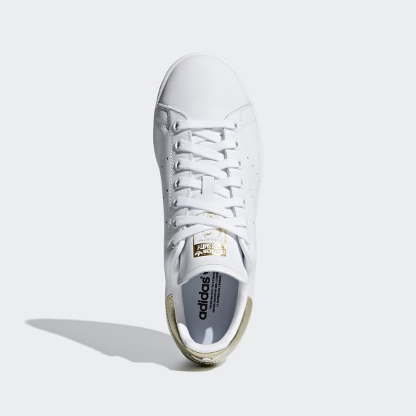 Stan Smith Shoes Cloud White / Cloud White / Gold Metallic EE8836