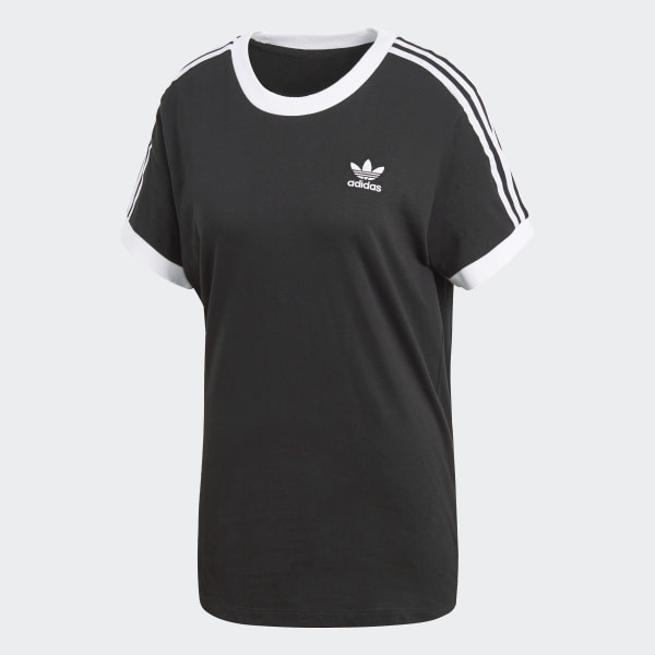 reliable quality high quality official photos adidas 3-Stripes T-Shirt - Black | adidas UK