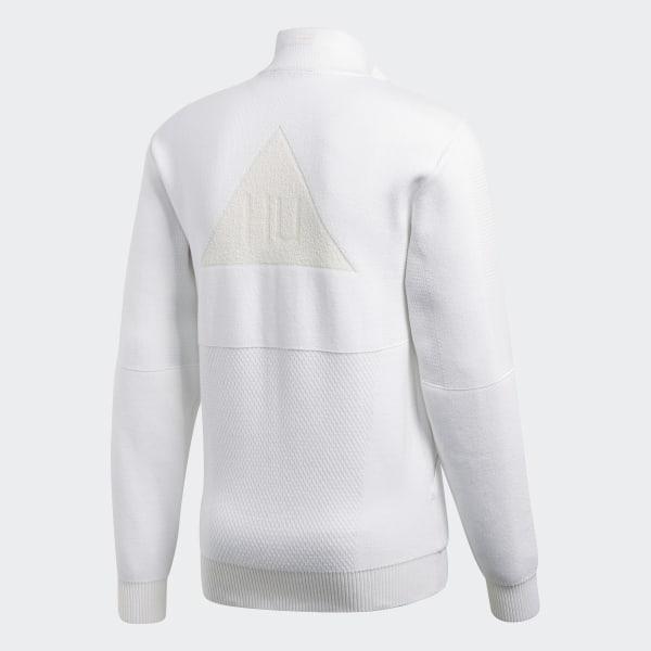 pharrell williams adidas jacke white