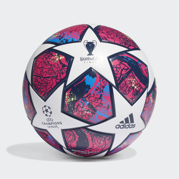 UCL Finale Istanbul League Ball White / Pantone / Glory Blue / Dark Blue FH7340