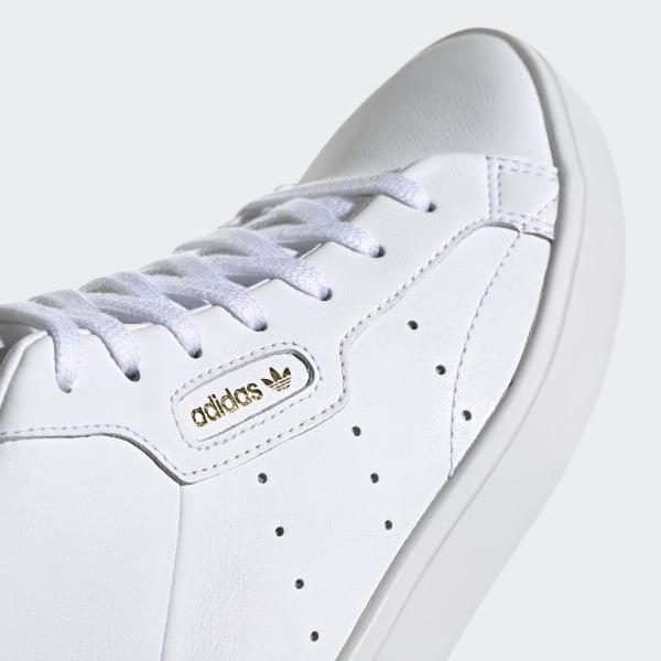 adidas Mid Deutschland Schuh Weißadidas Sleek WHE92DI