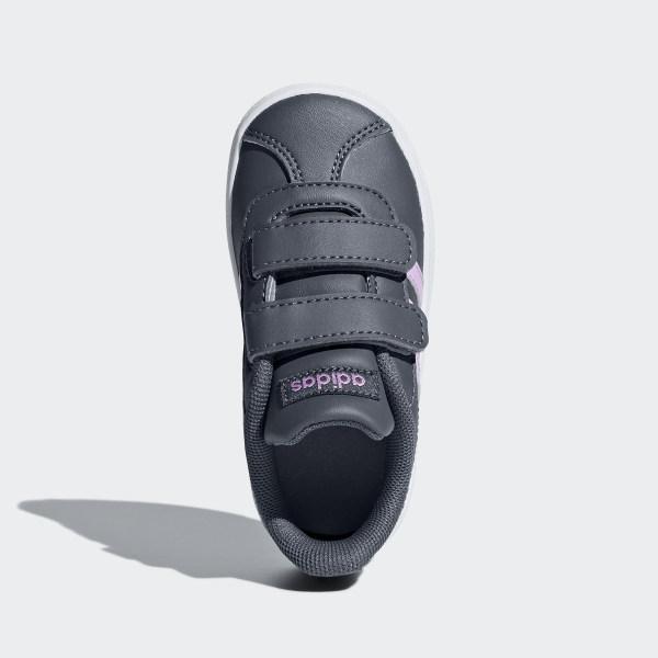 adidas VL Court 2.0 Shoes Grey | adidas Australia