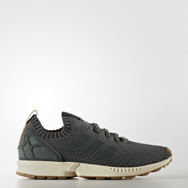 adidas ZX Flux Primeknit Shoes Green | adidas US