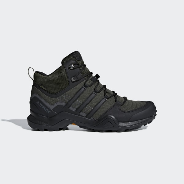 shades of to buy huge discount adidas Terrex Swift R2 Mid GORE-TEX Hiking Shoes - Green | adidas US