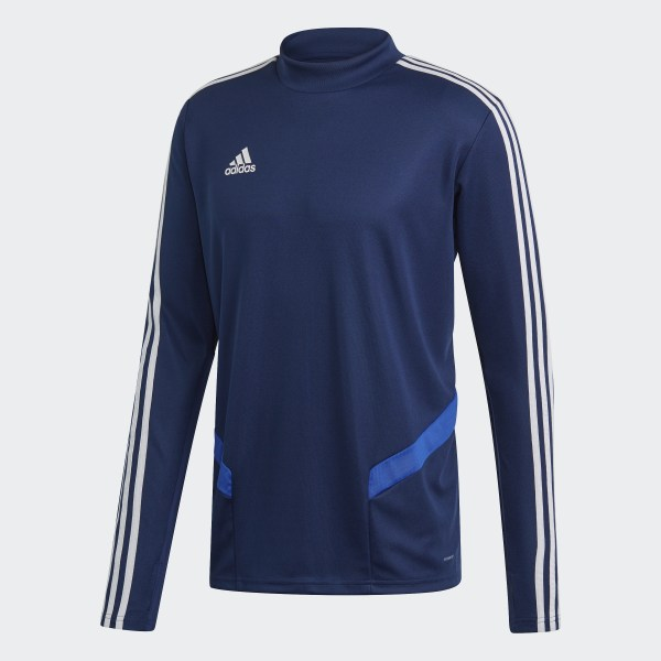 Adidas Tiro 17 Mens Soccer Training Top 3XL Bold Blue Black