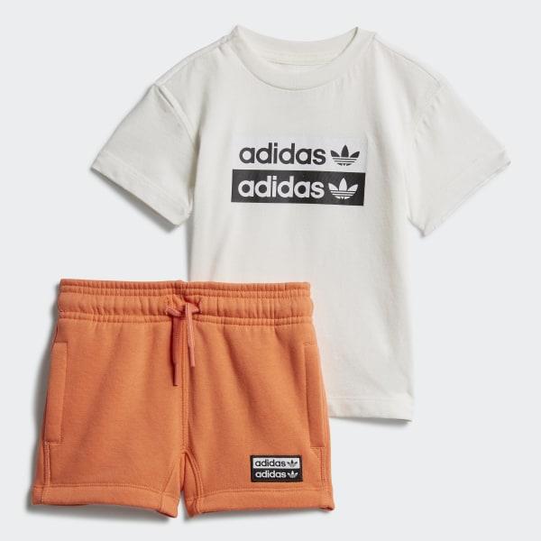 adidas t shirt shorts