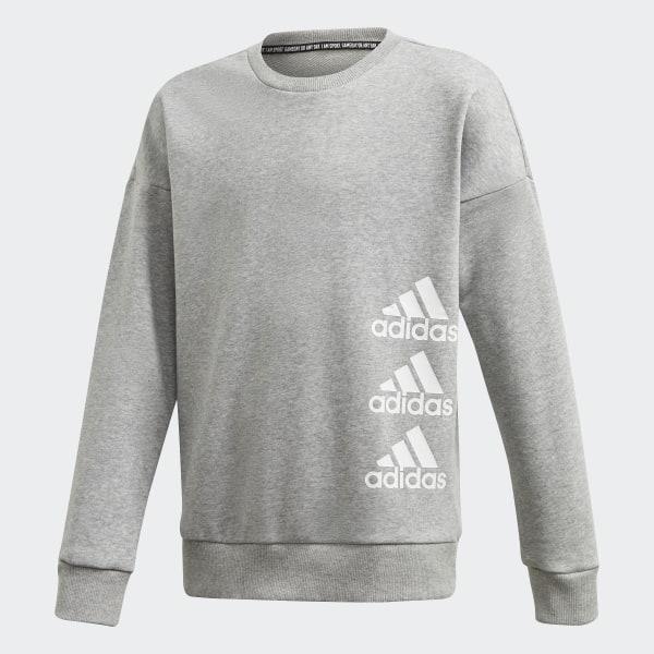 adidas Must Haves Sweatshirt Grau | adidas Deutschland
