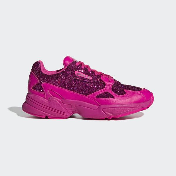 zapatillas mujer adidas falcon rosa
