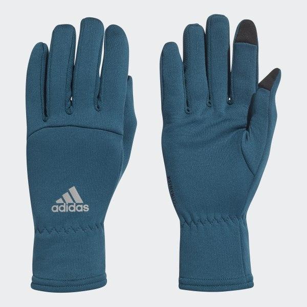 adidas Climawarm Gloves Blue   adidas US
