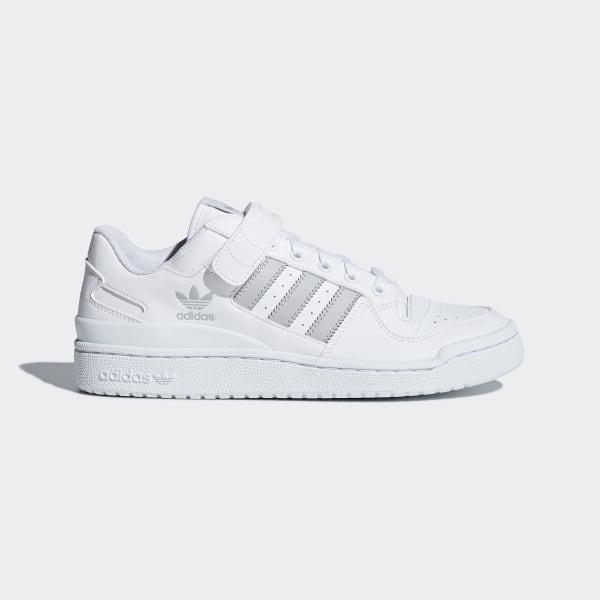 nowe tanie oszczędzać informacje dla adidas Forum Low Shoes - White | adidas UK