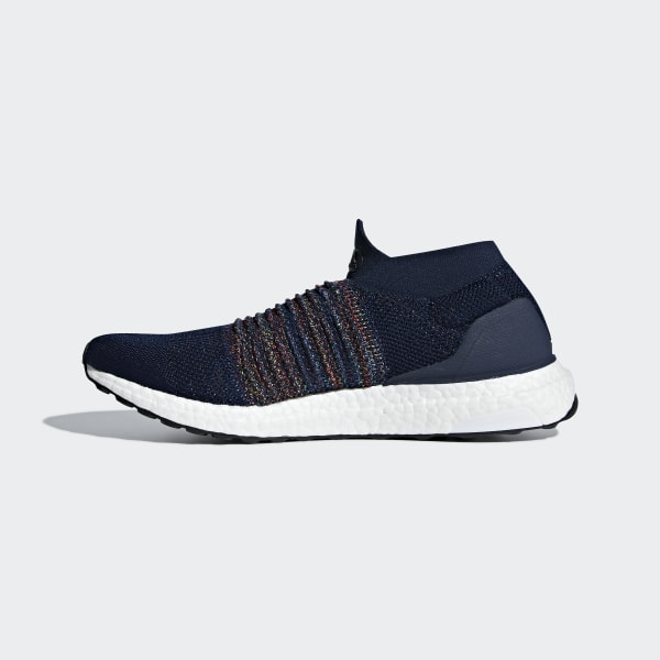 NEW Adidas Running Ultra Boost Laceless NavyBlackWhite Men