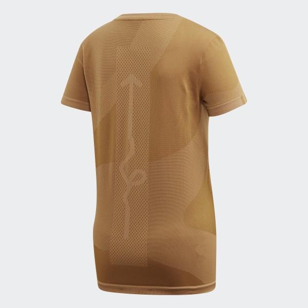 podgląd sportowa odzież sportowa trampki adidas Wood Wood 25/7 T-Shirt - Brown | adidas UK