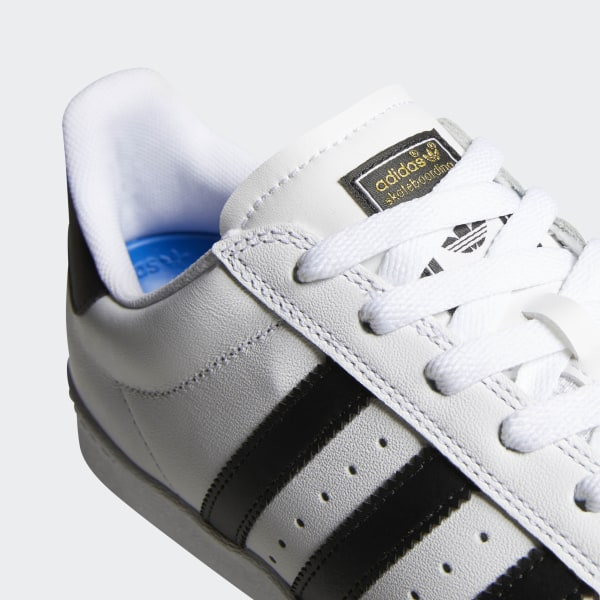2018 New Adidas Superstar Vulc Adv Outdoor Shoes Men White
