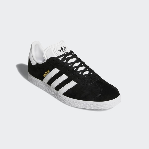 Adidas GAZELLE Men's Casual Sneakers Comfort Low Top Shoes Suede Black BB5476