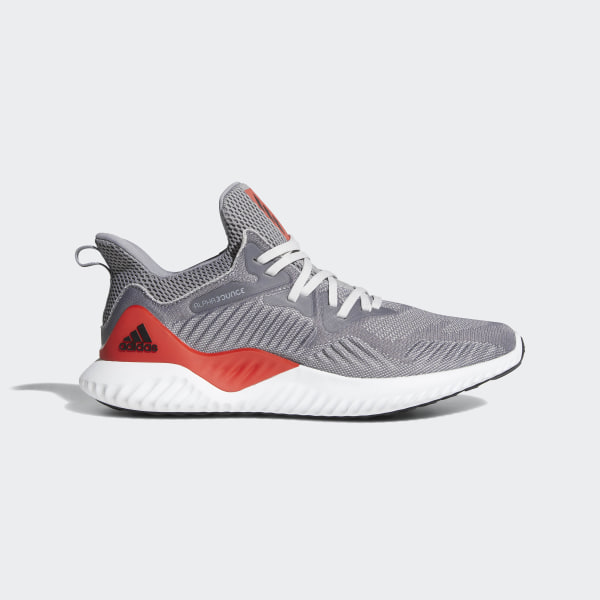 adidas alphabounce beyond grey red