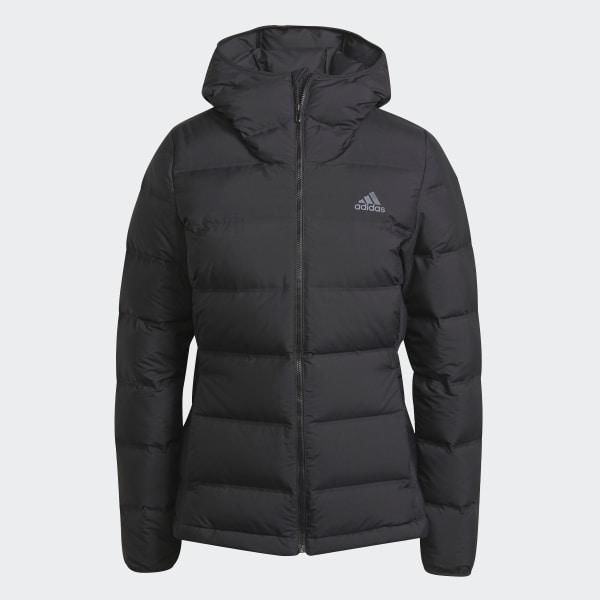 Chaqueta con capucha Helionic Down Negro adidas | adidas España