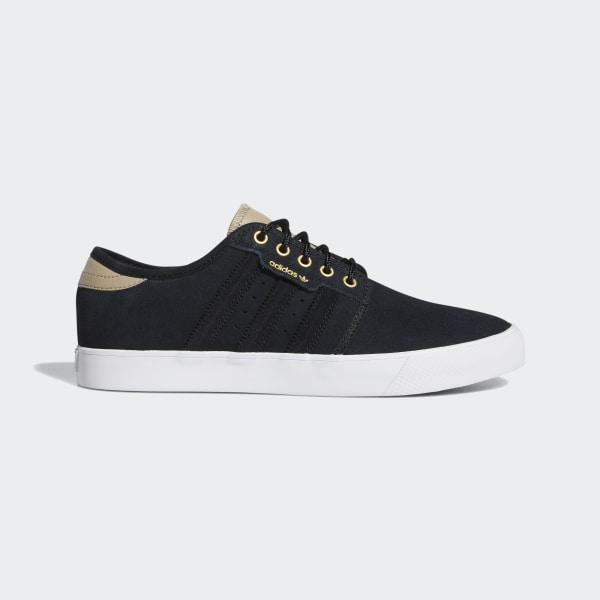 adidas shoes white and black, Adidas skateboarding seeley