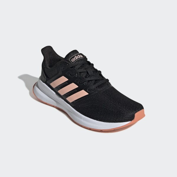 Runfalcon Shoes Core Black / Glow Pink / Semi Coral EE6932