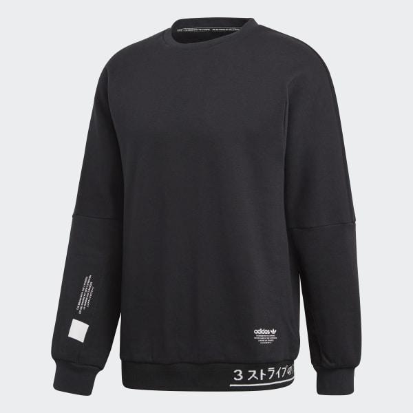 best sell buy popular brand new adidas NMD Crew Sweatshirt - Black | adidas US