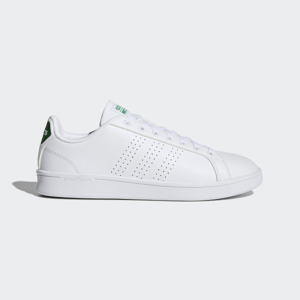 adidas Cloudfoam Advantage Clean Shoes - White | adidas UK