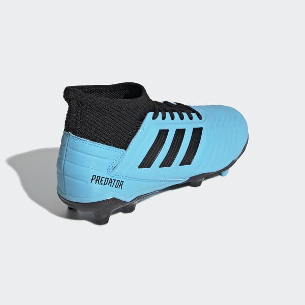 adidas Predator 19.3 FG Blau Schwarz blau 44