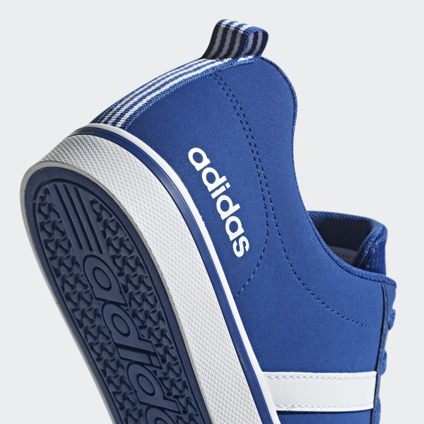 Details about Adidas Superstar White Royal Blue Stripes