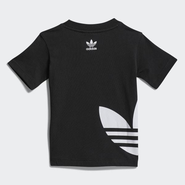 T shirt Big Trefoil Nero adidas   adidas Italia