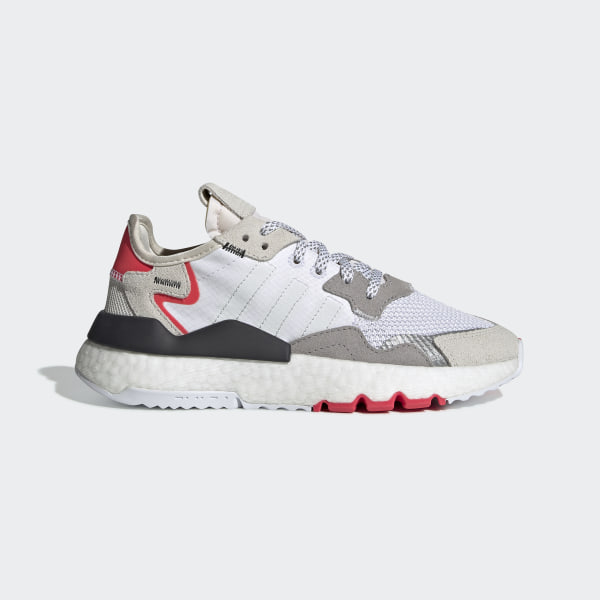 Nite Jogger Schoenen Cloud White / Crystal White / Shock Red G28044