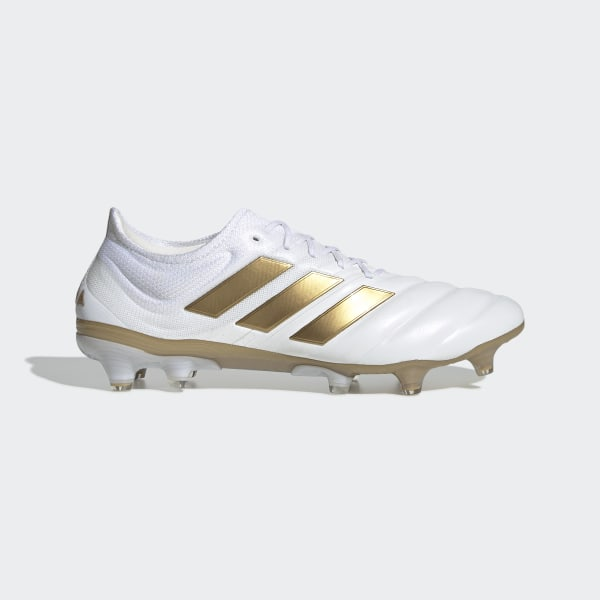 adidas Copa 19.1 Firm Ground Cleats - White | adidas US
