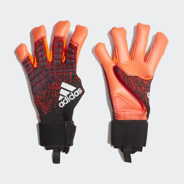 adidas Predator Pro Hybrid Gloves - Red | adidas US