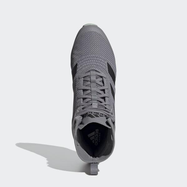 Da Uomo Adidas Originals Swift Scarpe Da Ginnastica In Grigio Run-chiusura a lacci-CALZINO come Fit