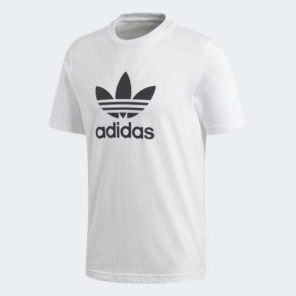 adidas Trefoil T Shirt Weiß | adidas Deutschland