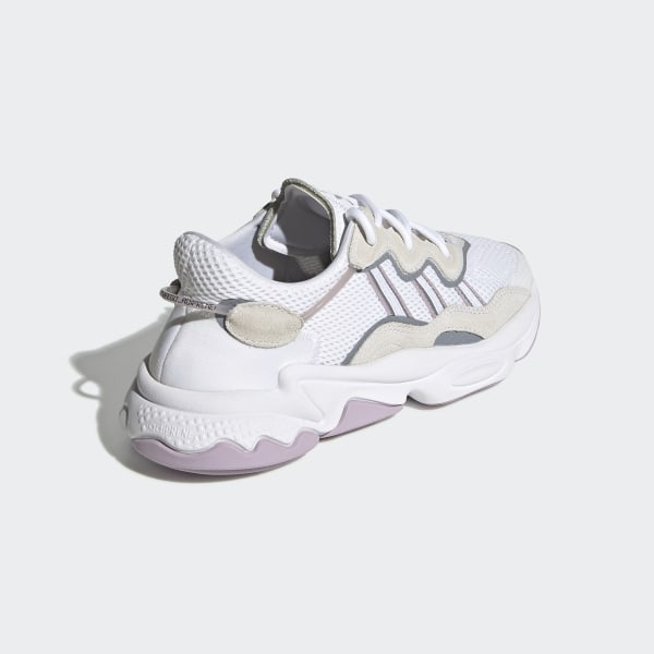 adidas superstar rose pale et blanche