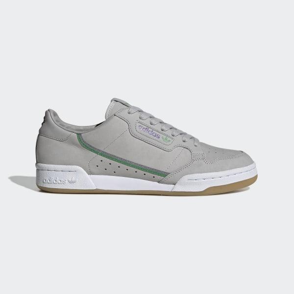 DamenHerren Adidas Originals x TfL Continental 80 Schuhe Grau DreiGrau VierGum EE7269