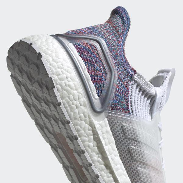 adidas Rubber Ultraboost 19 in WhiteCrystal WhiteBlue