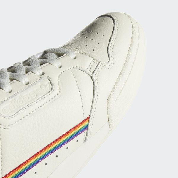 adidas Continental 80 Pride Schoenen - Wit | adidas Officiële Shop