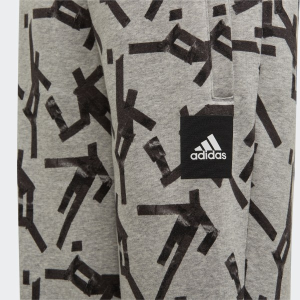adidas Sport ID Graphic Hose Grau | adidas Deutschland