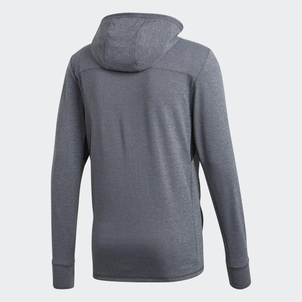 adidas Climacool Textured Hoodie Grey | adidas US
