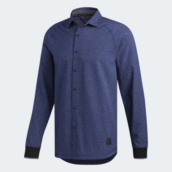 adidas Adicross Beyond18 Oxford Overhemd blauw | adidas