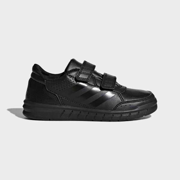 zapatillas adidas niños velcro negras