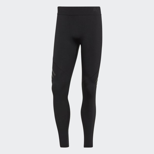 Tight Alphaskin Tech 3 Stripes Trainingshose lang Herren