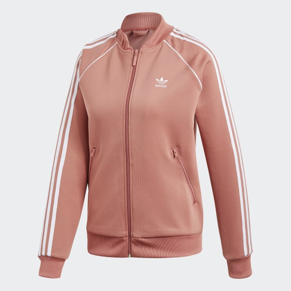 adidas Originals Pastel Rose Track Jacket | Adidas, Adidas